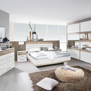 Rauch Schlafzimmer-Set »Tarragona«, beige, Schwebetürenschrank, Bett und 2 Nachttische