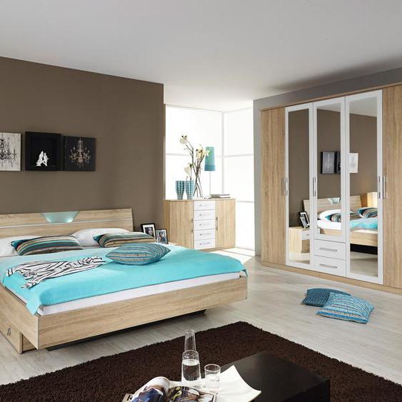 rauch BLUE Schlafzimmer-Set Valence (Set, 4-tlg) Einheitsgröße beige Komplett Schlafzimmer Betten Schlafzimmermöbel-Sets