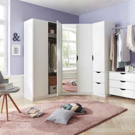 rauch BLUE Schrank-Set Freiham, (Set, 5 tlg.), 5-teilig Einheitsgröße weiß Drehtürenschränke Kleiderschränke