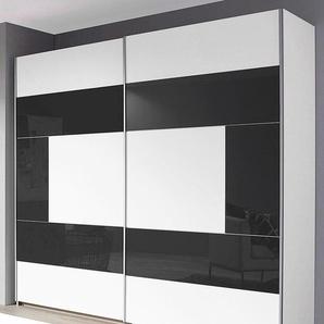 Places Of Style Schwebetürenschrank, T/H 58/210 cm, Breite 261 cm, 2-türig, weiß
