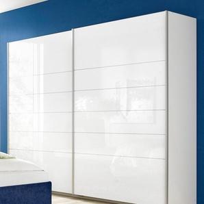 Rauch Schwebetürenschrank »Lorca«, T/H 62/210 cm, Breite 226 cm, weiß, Türen mit Hochglanzfronten