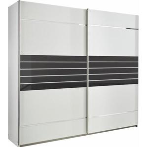 Rauch Schwebetürenschrank »Nienburg«, T/H 62/210 cm, Breite 271 cm, 2-türig, weiß