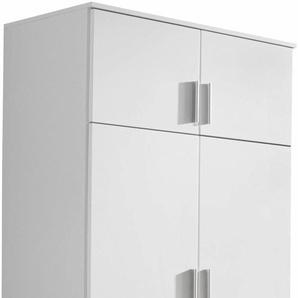 rauch Kleiderschrank Kemi B/H/T: 90 cm x 194 53 cm, 4 weiß Kleiderschränke Schränke Vitrinen Möbel sofort lieferbar