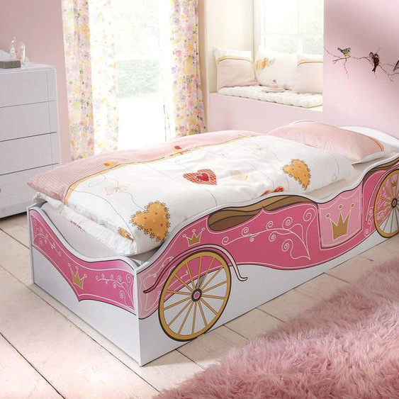 rauch ORANGE Bett Kate 90x200 cm rosa Mädchen Kinderbetten Kindermöbel Betten