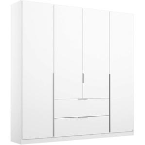 Rauch Drehtürenschrank »Memphis«, 181 x 210 x 54 BxHxT cm, weiß