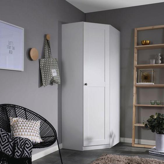rauch ORANGE Eckkleiderschrank Skagen B/H/T: 85 cm x 197 72 cm, 1 weiß Kleiderschränke Schränke Nachhaltige Möbel