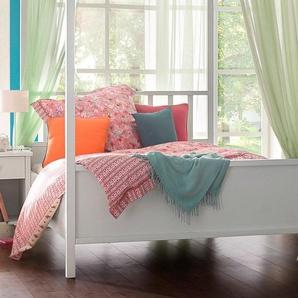 Rauch Himmel-Bett, pflegeleichte Oberfläche, weiß, 160/200 cm