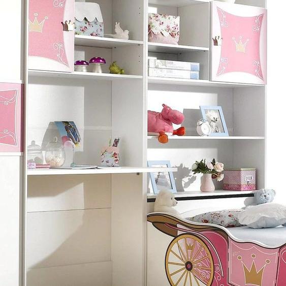 rauch ORANGE Jugendzimmer-Set Kate Einheitsgröße weiß Mädchen Jugendschreibtische Jugendmöbel Kindermöbel Schlafzimmermöbel-Sets
