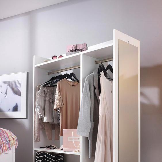 rauch ORANGE Kleiderstange Dressbox 120x60x150 cm weiß Zubehör für Kleiderschränke Möbel Kleiderstangen