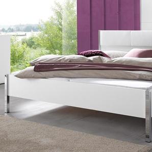 Rauch Bett »Moita«, Fußteilhöhe: 44 cm, weiß