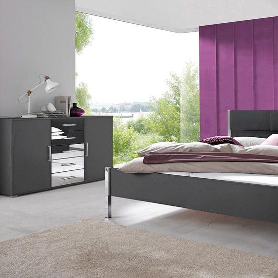 rauch ORANGE Schlafzimmer-Set Moita (Set, 4-tlg) Einheitsgröße grau Komplett Schlafzimmer Betten Schlafzimmermöbel-Sets