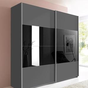 Rauch Orange  Schrank mit Schwebetüren  »Quadra«, 181 x 230 x 62 BxHxT cm, grau