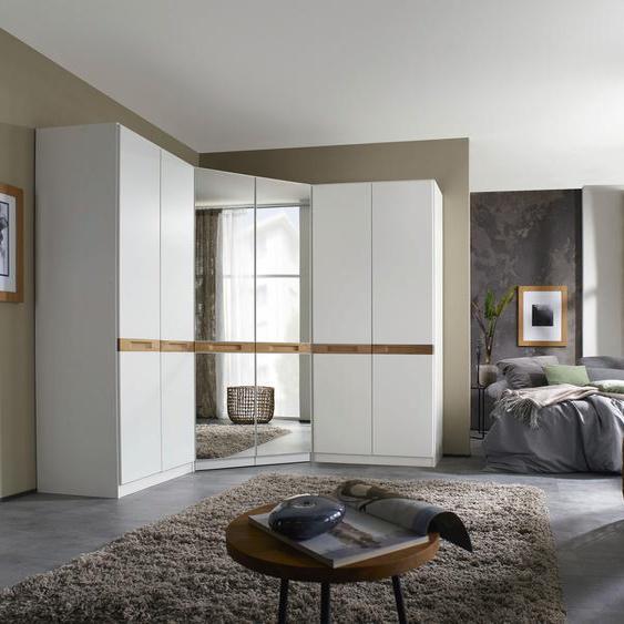 rauch ORANGE Schrank-Set Chino, (3 St.) H/T: 197 cm x 54 weiß Drehtürenschränke Kleiderschränke