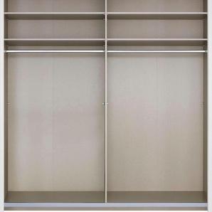 Rauch Schwebetürenschränke »Imperial«, mit 1 Spiegel, beige, Breite 181 cm, Höhe 235 cm