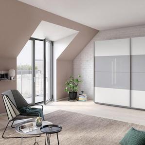 Rauch Schrank mit Schwebetüren »Quadra«, Breite 271 cm, weiß, Höhe 210 cm