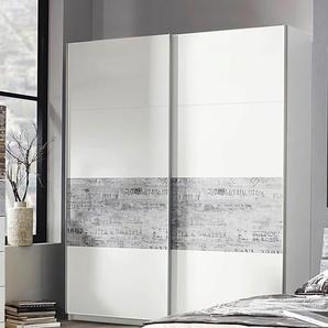 Inosign Schwebetüren-Schrank, Breite 225 cm, weiß