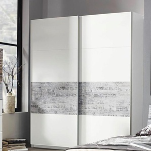 Inosign Schwebetüren-Schrank, Breite 181 cm, weiß