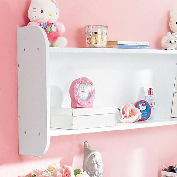 rauch ORANGE Wandboard Tabea 99x20x50 cm weiß Kinder Kinderregale Kindermöbel Regale