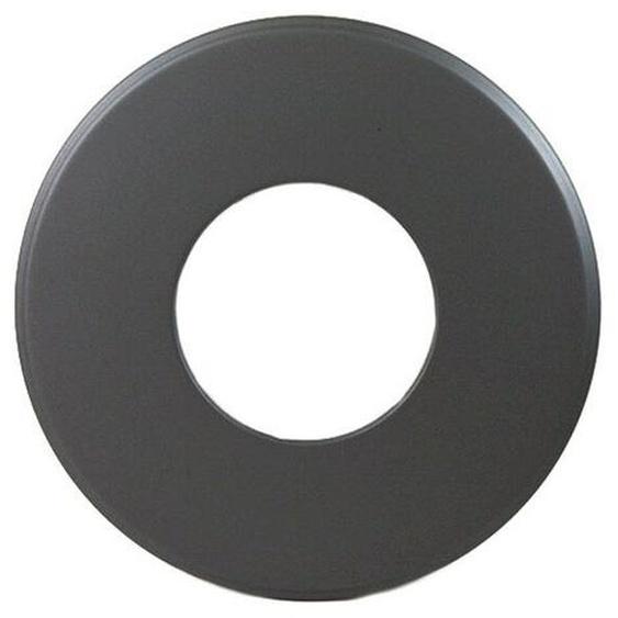 Rauchrohr Ofenrohr Wandrosette Dn 150 Mm Grau 90 Mm Ring Kamin Stahl