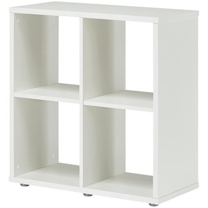Raumteiler 2x2 | weiß | 71 cm | 73 cm | 33 cm |