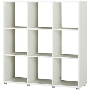 Raumteiler 3x3 | weiß | 106 cm | 107 cm | 33 cm |