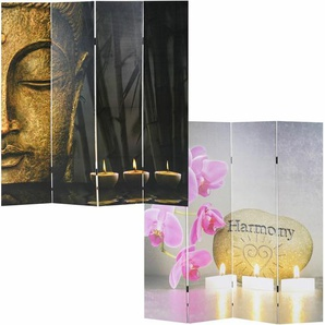 Raumteiler Ayad Buddha mit 4 Paneelen