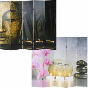 Raumteiler Ayer Buddha mit 5 Paneelen