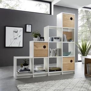 Raumteiler Garda Buche/Wildeiche Massivholz