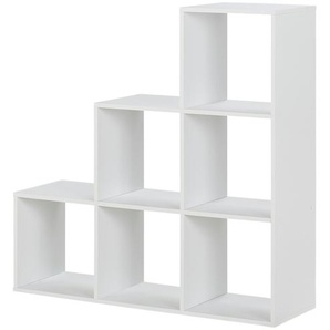 Raumteiler | weiß | 105 cm | 105 cm | 33 cm |