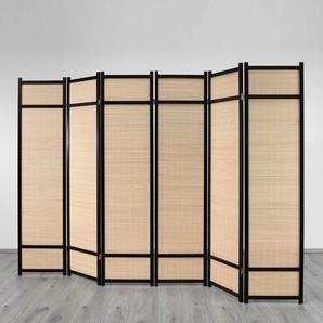 Raumteiler mit Bambus-F�llung Extrabreit