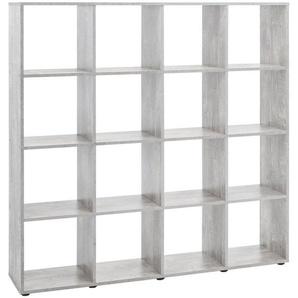 Raumteiler / Regal »mit 16 Fächern«,Maße 138,5x29x143 cm