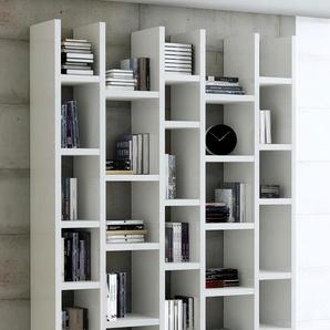 Raumteilerregal TOR164, Breite 150 cm Einheitsgröße weiß Raumteiler Regale