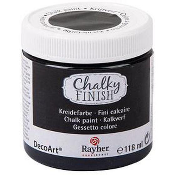 Rayher Chalky Finish Kreidefarben ebenholz 118,0 ml, 1 St.