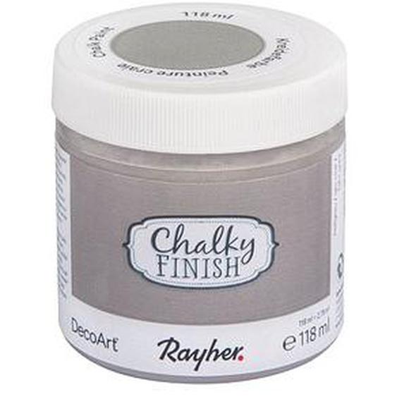 Rayher Chalky Finish Kreidefarben hellgrau 118,0 ml, 1 St.