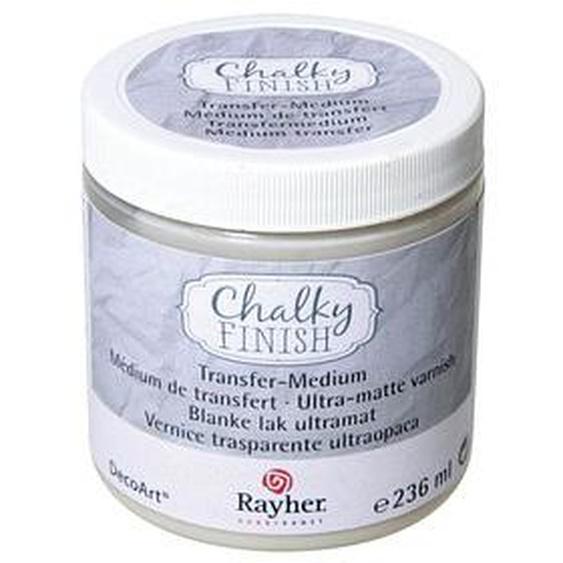 Rayher Chalky finish ultra matt Transfermedium transparent 236,0 ml, 1 St.