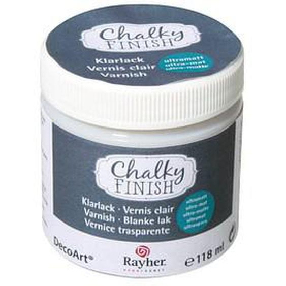 Rayher Chalky Finish Ultramatt Klarlack transparent 118,0 ml, 1 St.