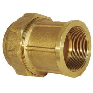 RC Junter 44063–Link Weiblich Messing, 63mm, 9.5x 8x 8cm, gold