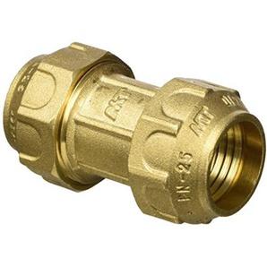 RC Junter 46025Muffe messing, 25mm, 5x 4x 4cm, gold
