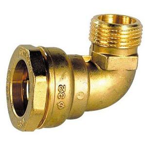 RC Junter 48020Winkelstück, Messing, 20mm, 6x 6x 3,5cm, gold