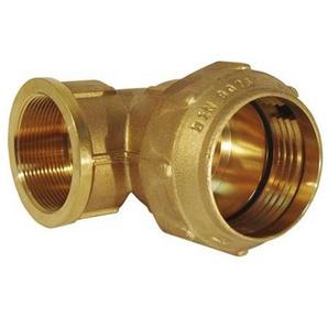 RC Junter 49063Winkelstück, Messing, 63mm, 13x 12x 8.5cm, goldfarben