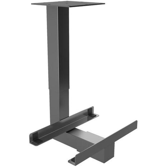 RCPU G | PC-Halter universal - Schreibtisch – Zubehör Graphit