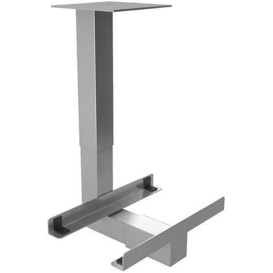 RCPU S | PC-Halter universal - Schreibtisch – Zubehör Silber