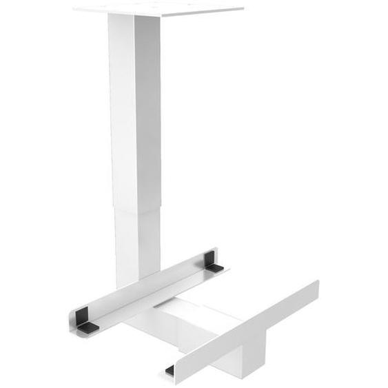 RCPU W | PC-Halter universal - Schreibtisch – Zubehör Weiß