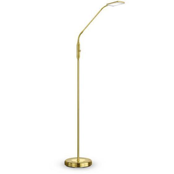 Reality Leuchten LED-Stehlampe, Messing, Messing, (Blatt-)Gold