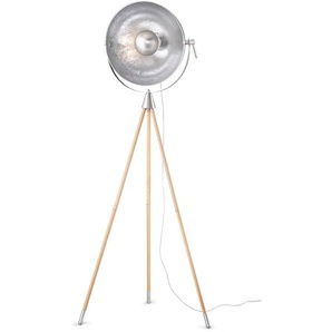 Reality Leuchten Stehlampe, Alu, Eisen, Stahl & Metall