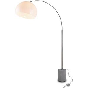 Reality Leuchten Stehlampe, Silber, Alu, Eisen, Stahl & Metall