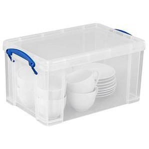 Really Useful Box Aufbewahrungsbox 14,0 l transparent 25,5 x 39,5 x 21,0 cm