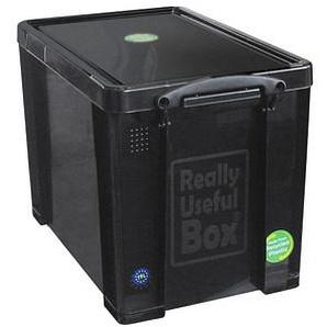 Really Useful Box Aufbewahrungsbox 19,0 l schwarz 39,5 x 25,5 x 29,0 cm