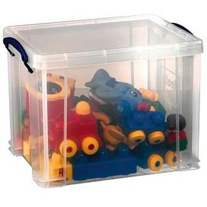 Really Useful Box Aufbewahrungsbox 19,0 l transparent 39,5 x 25,5 x 29,0 cm