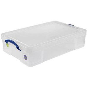 Really Useful Box Aufbewahrungsbox 33,0 l transparent 71,0 x 44,0 x 16,5 cm